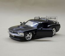 JADA 1:32 scale High simulation alloy model car,1970 FORD429 Ford Mustang,2 open door,quality toy models,free shipping