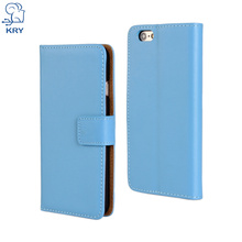 KRY Luxury Flip Leather Phone Cases For iPhone 6 Case Anti-Knock Anti-Skid Wallet Fundas Cover For iPhone 6s Case Capa Coque(China)