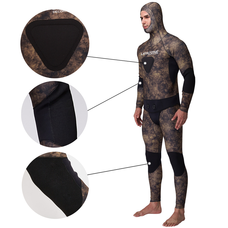 spearfishing underwater hunting opencell snooth skin wetsuit yamamoto cressi06