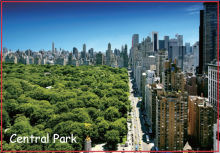 USA Travel Magnets Gifts Magnet 20004 ,NY Central Park Souvenir Magnets ;Customized artworks accept(Hong Kong)