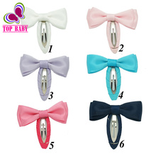 "2""New Product Korea Boutique Stain Hair Bow For Kids Girls Lovely Cute DIY High Quality Hairpins Mini Hair Accessories"