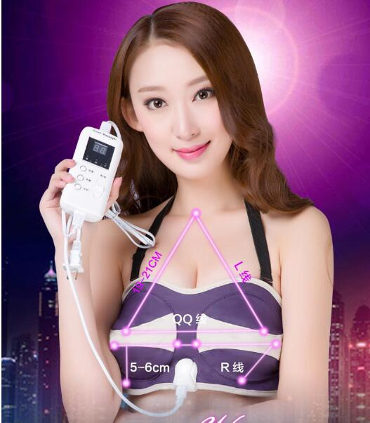Electric breast instrument bust massager prevent mammary ptosis breast enlarge device massage instrument<br>