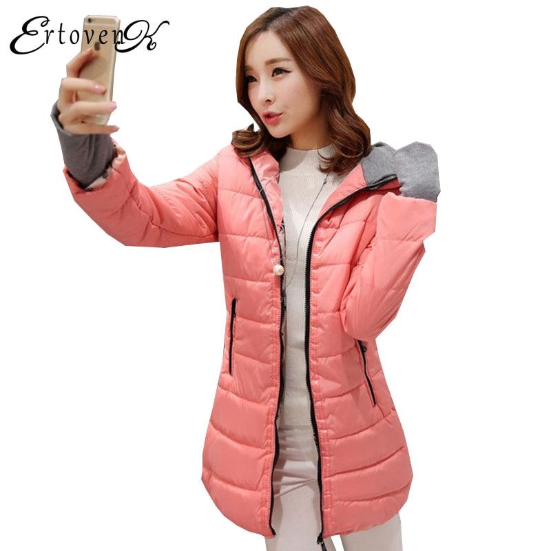 Hot Plus Size Winter Jactet 2017New Women Coats Korean Thin section Clothing Slim Fashion Top Warm Outerwear abrigos mujer 1039Îäåæäà è àêñåññóàðû<br><br>