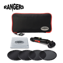 Rangers 7 in1 49- 77mm 58mm 67mm Universal Neutral Density ND Filter Kit for Canon Nikon DSLR Camera Lens Accessories RA015/22