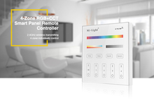 Milight T4 AC220V 4-Zone RGB+CCT Smart Panel Remote Controller for led strip light lamp or bulb(China)