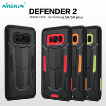 For Samsung galaxy S8 Coque case Defender 2 phone case For Samsung galaxy S8 plus Protective Phone Case drop shipping(China)