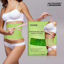 Plastic Belt Waist Body Slimming Shape-Up Wrap Anti Cellulite Fat Burner Products for Weight Loss Reusable Use(China)