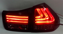 Free shipping for VLAND Car led tail lamp For Lexus RX330 Taillight For RX350 LED Tail light 2004-2009 Black color