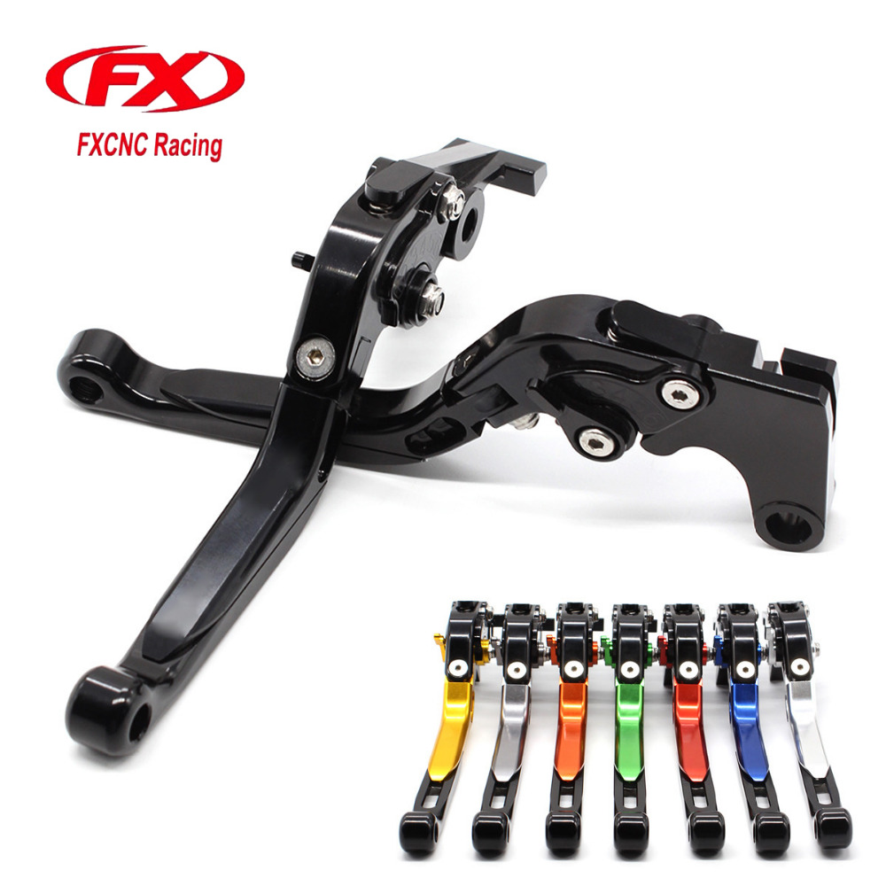 FX CNC Motorcycle Folding Extendable Brake Clutch Lever For Kawasaki Z1000 Z1000R Z1000SX NINJA 1000 Tourer 2017 Moto Brake <br>