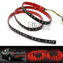 "LPL-036 49"" Flexible Car Truck LED Tailgate Light Bar Running/Brake/Reverse/Signal/Rear Strip Light Lamp Red and White Color 12V"