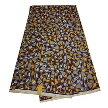 KBLbatik style african java wax print fabric in purple fashion designs
