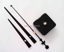 Wholesale Fast Shipping 500PCS Sweep Clock Movements for Quartz Clockwork with Black Long Hands