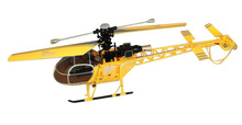 2014 New Arrival WLtoys V915 Lama 4CH Gyroscope High Simulation RC Helicopter RTF 2.4GHz
