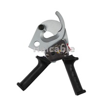 Haicable Mechanical Cable Cutter D-300 Wire Cutter Ratchet Cable Cutter For Cutting Copper & Aluminum Cable Max 600MCM/Dia 35mm