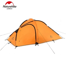 Naturehike 3 Person ultralight Tent 210T  4 Season aluminum pole waterproof Outdoor Hiking Camping tent professional hiking tent