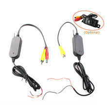 2.4Ghz Wireless Video Transmitter Receiver Module For Connecting Car Backup Reverse Rearview Camera and Monitor(China)