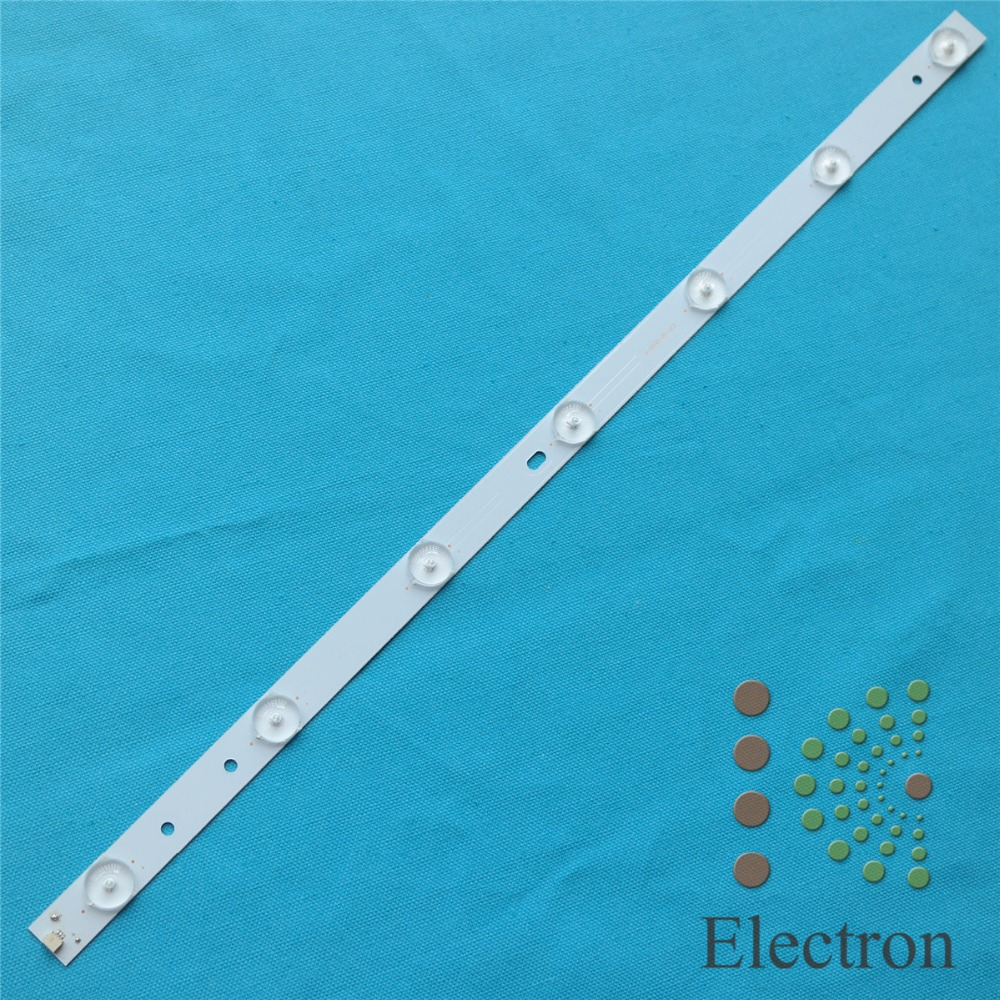 5pcs 50 485mm*17mm LED Backlight Lamps Strips Aluminum plate with Optical Lens Fliter Large Size for TV Screen Monitor New<br><br>Aliexpress