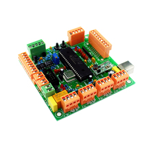 Smart Electronics 4 Axis USB CNC Controller Interface Board CNCUSB MK1 USBCNC 2.1 Substitute MACH3+DVD Disk