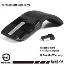 Free Shipping Wireless Mouse USB Computer Digital Mouse Arc Touch Laptop Mice for Microsoft PC Tablet China Factory Direct