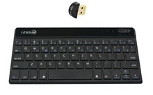 Ultra-thin universal bluetooth keyboard with a Bluetooth Adapter V4.0 Dual Mode Bluetooth Dongle for windows  PC Desktop