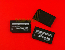 High Quality Mini Micro SD SDHC TF to Memory Stick MS Pro Duo Adapter Converter Card 20pcs/lot
