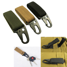 Molle attach belt clip webbing backpack strap backpack Quickdraw Carabiner camp tactical travel bag kit hike clasp outdoor kit