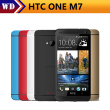 Original Phone HTC ONE M7 Unlocked 3G 4G Wifi GPS 4.7'' Touch Cell Phone 2GB RAM 32GB Storage Android SmartPhone(China)