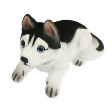 Car Auto White Black Husky Nodding Dog Decoration(China)