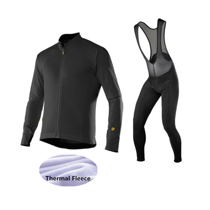 MAVIC 2015 winter cycling clothing fleece thermal cycling jersey pro bike clothes mtb ropa ciclismo invierno maillot<br>
