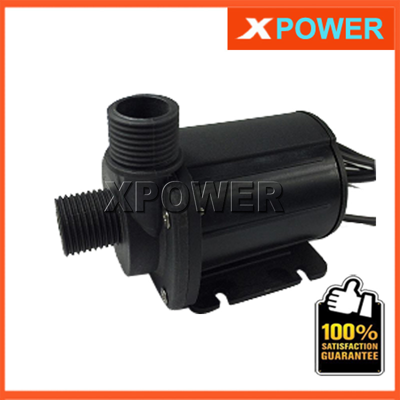 JT-1000B 4 Points Screw Thread Whorl 2000L/H 5M 24V DC Booster Pump 12V DC Brushless Water Pump  Submersible Fountain Pump<br><br>Aliexpress