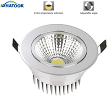 Blade Led Downlight COB Ceiling 3W 5W 7W 10W 15W 20W 30W ceiling recessed Lights Warm Cool White Indoor Lighting x 2pcs(China)