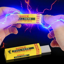 2Pcs Electrical Shocker Shocking Chewing Gum Funny Toy  Safety Trick Joke Practical Joke Fantastic For Fun Gag Gift Farce Blague
