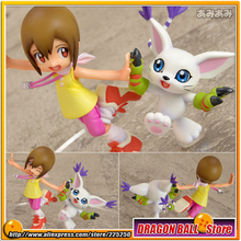 "Japanese Anime ""Digimon Adventure"" Original MegaHouse G.E.M. Series 1/10 Complete Figure - Hikari Yagami & Tailmon"