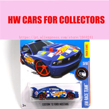 Toy cars 2016 New Hot 1:64 cars Wheels custom 12 ford mustang car Models Metal Diecast Car Collection Kids Toys Vehicle(China)