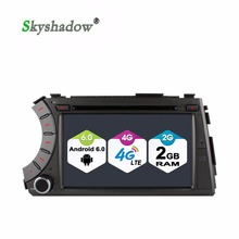 C500 Quad Core 2GB RAM 4G LTE Android 6.0 Car DVD player For SsangYong Kyron Actyon 2005-2013 Bluetooth RDS Radio wifi GPS Map(China)