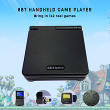 GB Station Light boy SP PVP Hand Held Game Console Classic Games Portable Handheld Game Video Player For Children Gaming Toys(China)