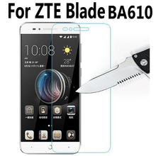 For ZTE Blade A610 Tempered Glass Film For ZTE Blade A610 BA610C BA610T BA610 Screen Protector Cover protective Film Case