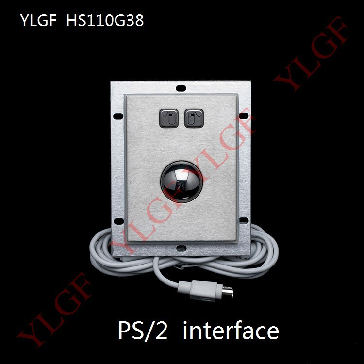 Trackball Mouse Ylgf PS/2 Interface Embedded Industrial Mouse Waterproof Ip65 Dust Anti Violence Stainless Steel Ring<br><br>Aliexpress