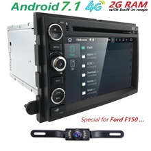 WiFi1024*600 QuadCore Android7.1 CarDVD For Ford Fusion Explorer 500 F150 F250 F350 Edge Expedition Mustang Radio GPS Navigation(China)