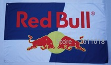 Red bull flags - 3X5 Banner  Red bull Racing Car Flags 90cmX150cm