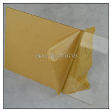 Acrylic Sheets Home Hotel Decor Perspex Clear Sheet (8pcs/lot) 300X600X3MM PMMA Board Plaques Can Cut Any Size