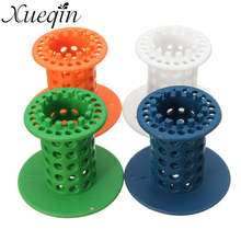 Xueqin Shower Drain Hair Catcher Stopper Clog Sink Strainer Bathroom Shower Drain Net Cleaning Protector Filter Accessories
