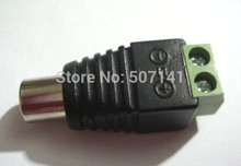 80pcso adapter Cinch connec terminal block to RCA female for TV Videtor