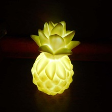 Multicolor Creative Pineapple LED Night Light Bedroom decoration children toy led night lamp