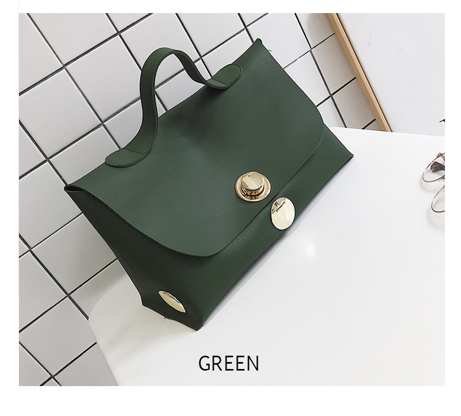 Fashion Luxury Lock Women Handbags High Quality Pu Leather Bags Handbags Women Famous Brands Big Capacity Ladies Hand Bags Sac 11