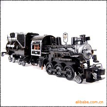 Zakka grocery handicrafts color black classic America train MKF8501 Wrought iron crafts, gifts, business gifts Christmas gifts,(China)