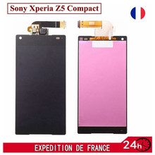 For Sony Xperia Z5 Compact Mini E5803 E5823 LCD Display Screen With Digitizer Touch Full Assembly 100% Test,Black White