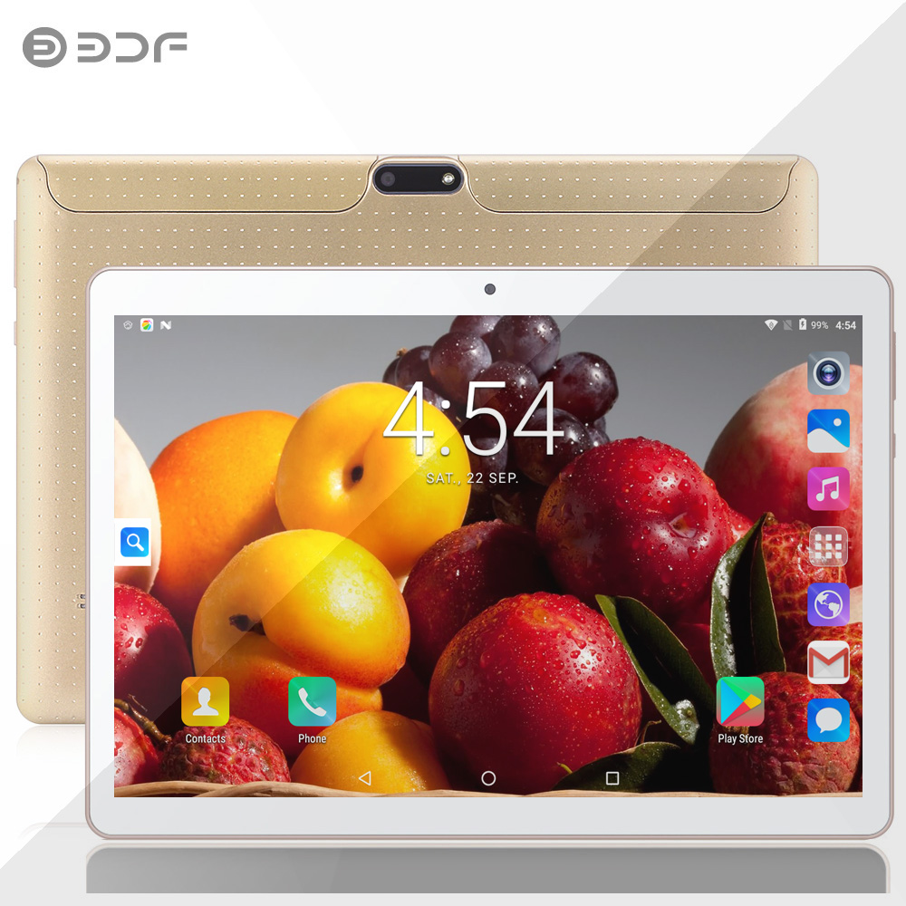 BDF New 10 Inch Android 7.0 Phone Call Tablet PC Quad Core 4GB/32GB IPS LCD Bluetooth WIFI Dual SIM Card Dual Camera 5.0 MpTab (China)