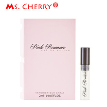 2ml Portable Liquid Perfume Perfumes for Women Lady Long-lasting Scent Deodorant Fragrance Antiperspirant Pink Romance MH025-07