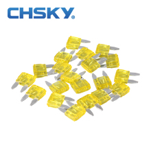 20PCS  with the high quality min auto fuse 20A min car fuse blade 12V S11